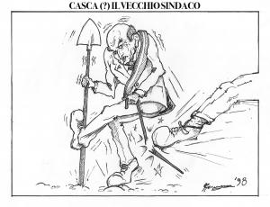 Casca (?) il vecchio sindaco